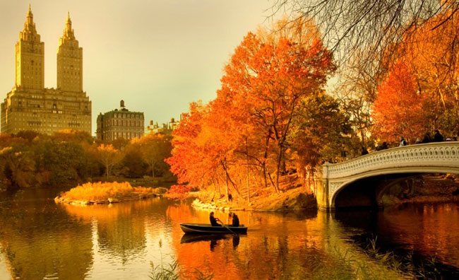 Central Park in autunno