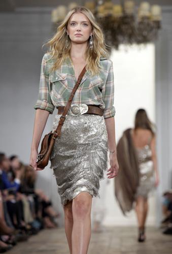 Le cowgirl di Ralph Lauren a New York