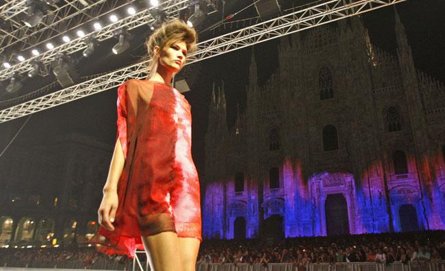 'Milano Loves Fashion': la moda in piazza