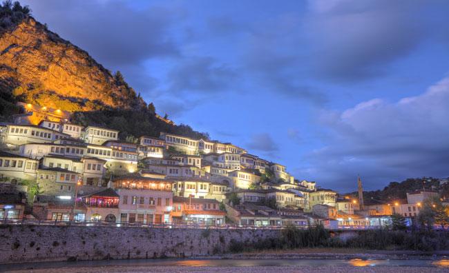 Berat, città storica dell'Albania