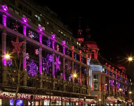 Luci di Natale  Boulevard Haussmann