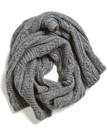 Sciarpe o colli in maglia. Calde e avvolgenti