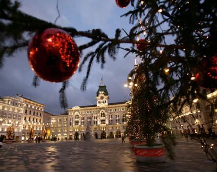 Illuminazione natalizia Trieste