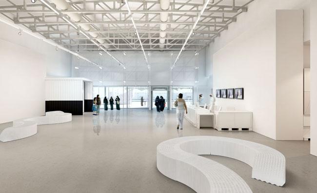 Inaugura il museo dell'arte moderna in Quatar