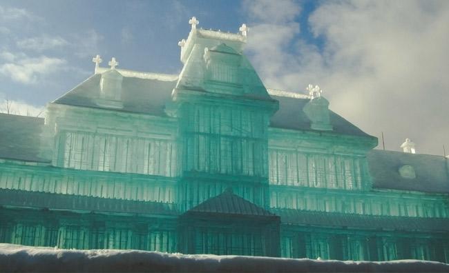 Ice Magic a Parigi. Sculture di ghiaccio