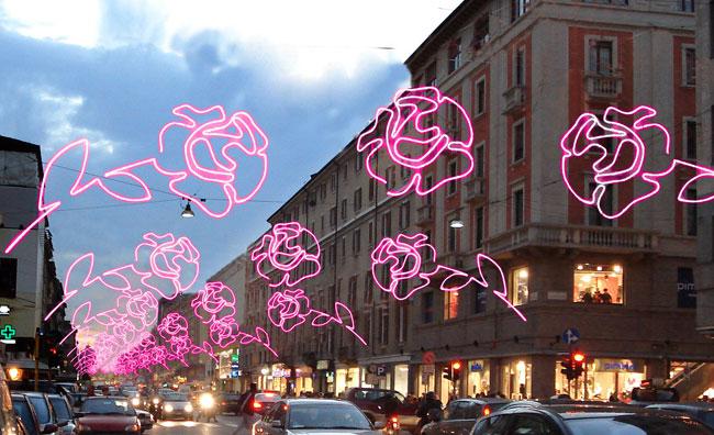 La meraviglia delle luci d'artista: si accende il LED Festival 2010