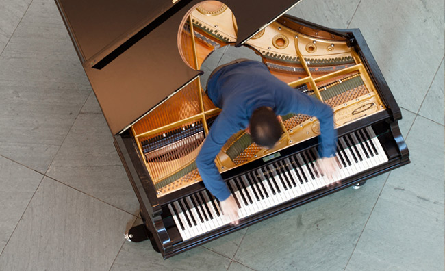 Stop, Repair, Prepare: Variations on  Ode to Joy  for a Prepared Piano. 2008