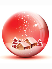 Il design natalizio che arreda la casa