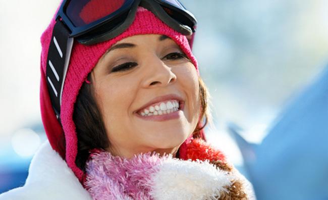 Occhio al sole sulle piste da sci!