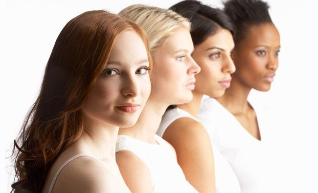 Quattro giovani donne