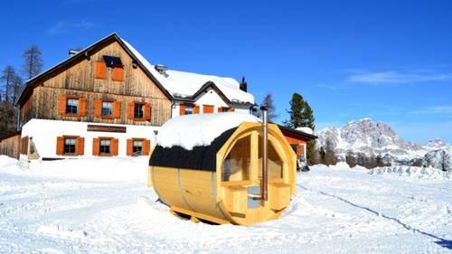 Rifugio Croda da Lago: benvenuti in sauna
