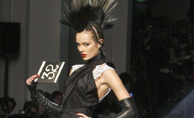 L'alta moda da Jean Paul Gaultier è punk