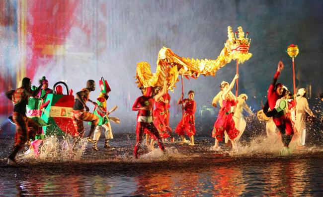 Cerimonia di apertura del Dubai Shopping Festival