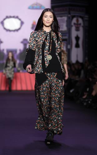Anna Sui, collezione Autunno Inverno 2011 2012