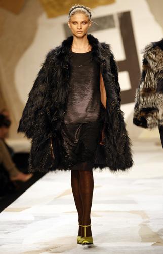 Fendi, collezione Autunno Inverno 2011 2012