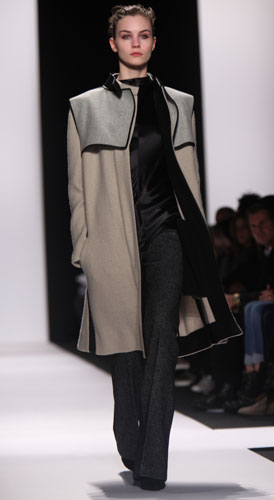 Narciso Rodriguez, collezione Primavera Estate 2011 2012