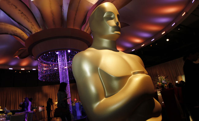 Statua Oscar al Governors Ball