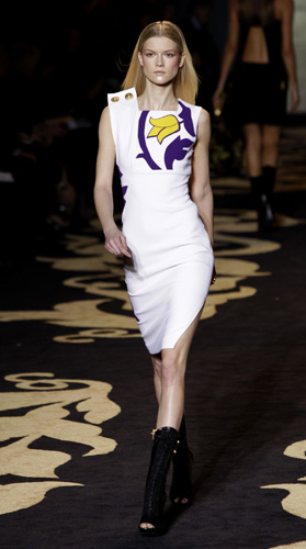Versace, collezione Autunno Inverno 2011 2012