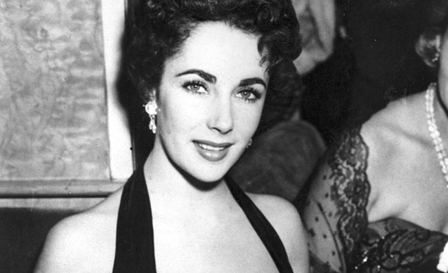 Elizabeth Taylor a Londra nel 1951