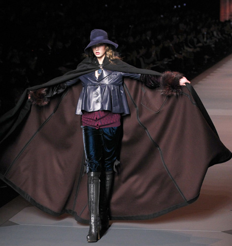 Christian Dior, collezione Autunno Inverno 2011 2012