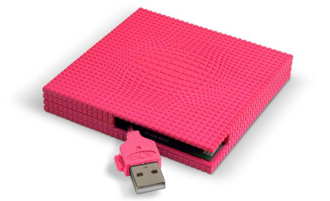 Gli hard disk esterni diventano vezzo glamour