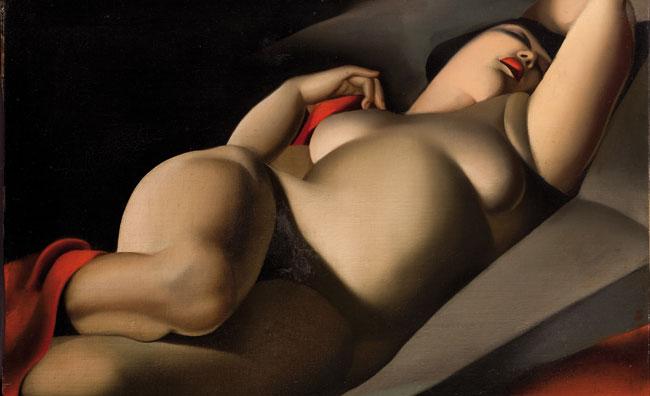 Le opere di Tamara de Lempicka in mostra a Roma