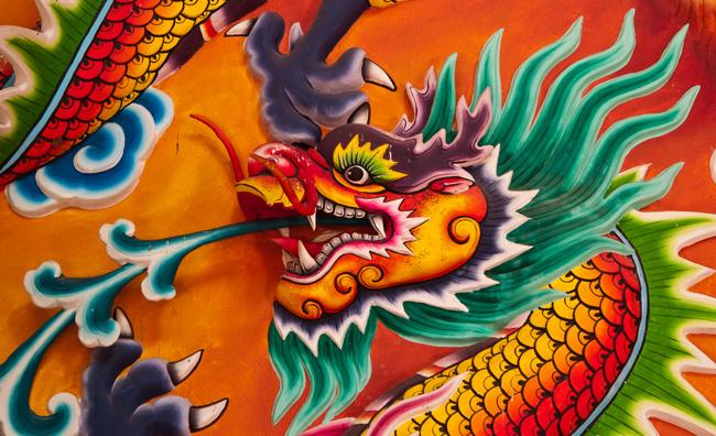 Un viaggio onirico sul dorso di un dragone magico