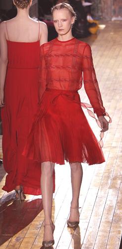 Tendenze colori Primavera Estate 2011: Rosso