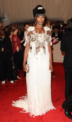 Naomi Campbell in McQueen