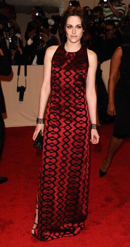 Kristen Stewart in rosso