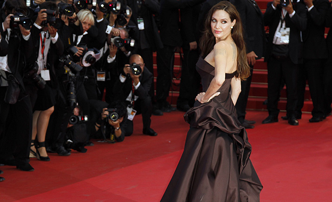 Cannes 2011, Angelina sul red carpet