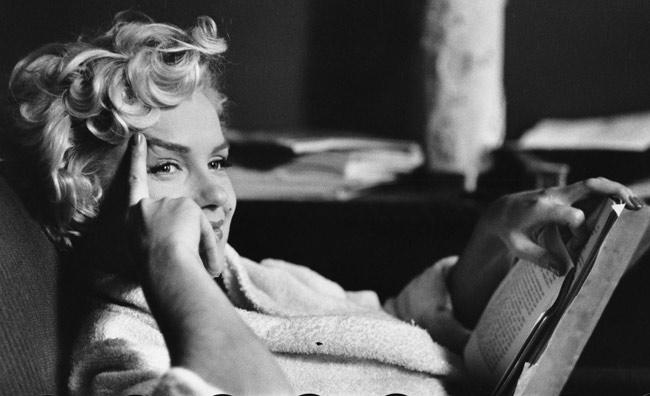 Us actress Marilyn Monroe, 1956