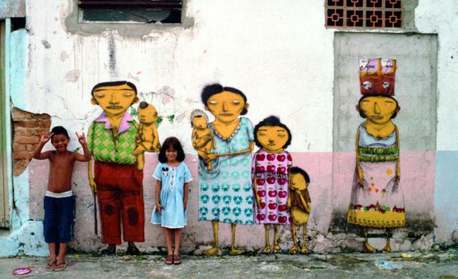 Kindergarten d'artista. L'arte di strada a Modena