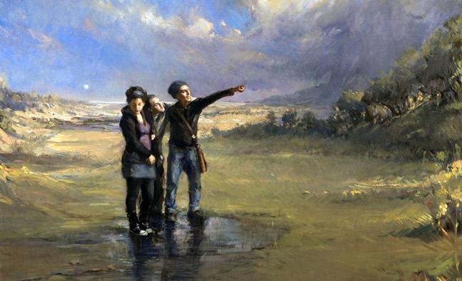 Sacro e profano opere di Angel Ramiro Sanchez