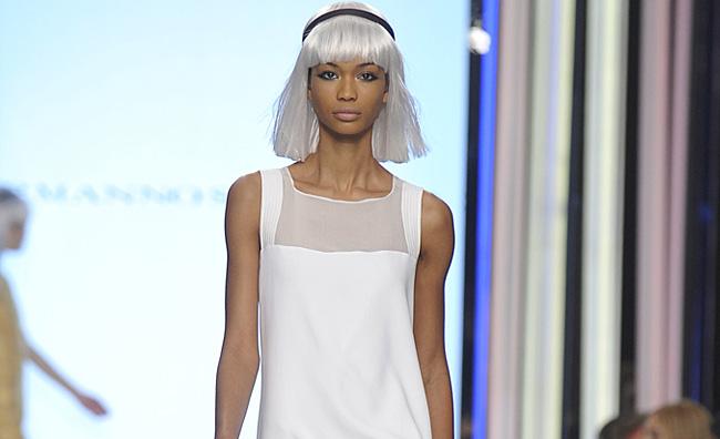 Sofisticato, optical, minimal. Bianco