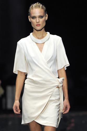 Mini abito bianco per Costume National