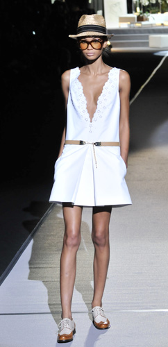 Mini abito bianco Dsquared2