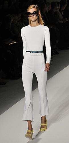 Pantaloni e maglia bianca MaxMara