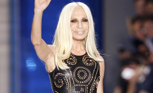 Donatella Versace in H&M