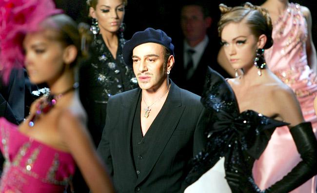 Il giorno di Galliano: lo stilista a processo