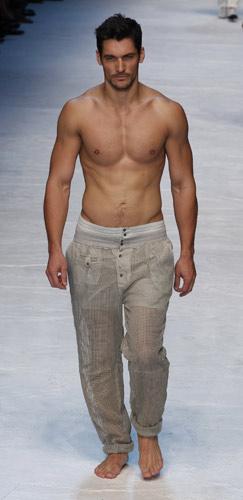 il modello David Gandy