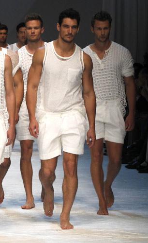 David Gandy in Dolce&Gabbana