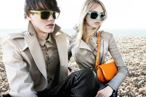 Campagna stampa Burberry 2011