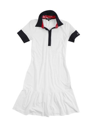 Mini abito bianco Breach