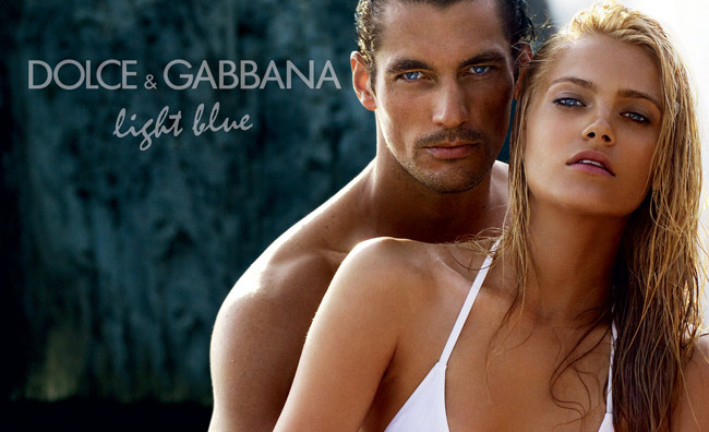 David Gandy nello spot Light Blue