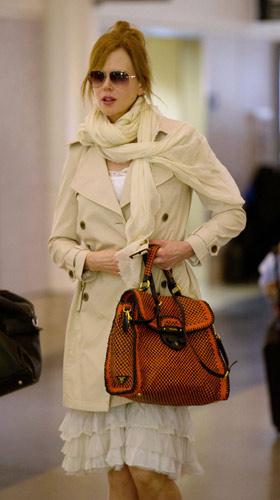 Nicole Kidman in trench