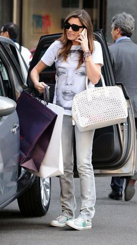 Alena Seredova in jeans
