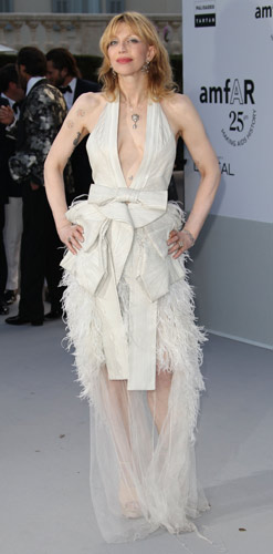 Courtney Love in Givenchy