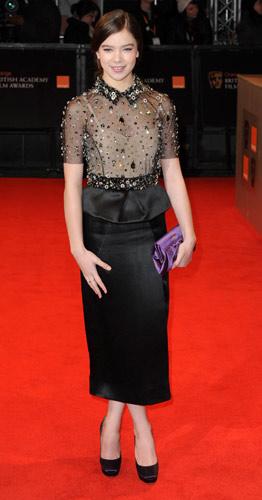 Hailee Steinfeld ai BAFTA Awards 2011