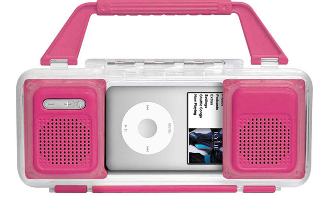 Custodia ipod impermeabile rosa